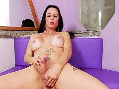 Furuncle butted latino shemale Paula D..