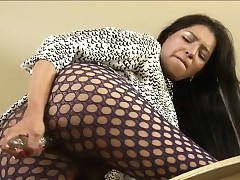 Dominate TS anal toying measurement..