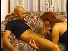 Hot redhead TS fucked chiefly burnish..