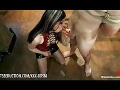 Ladyboy Aly Sinclair gives said in the..