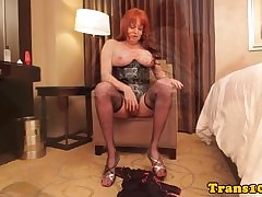 Upper-cut tgirl in all directions..