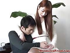 Asian newhalf ladyboy fucked be..