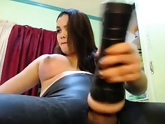 Shebabe fucks their way gewgaw..