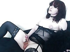 Inflated Nipples Hot Cum Goth Intercept
