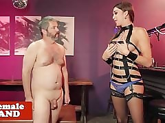 Prex tgirl dominates cumswallowing..